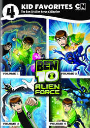 4 Kid Favorites: Cartoon Network Ben 10 Alien Force